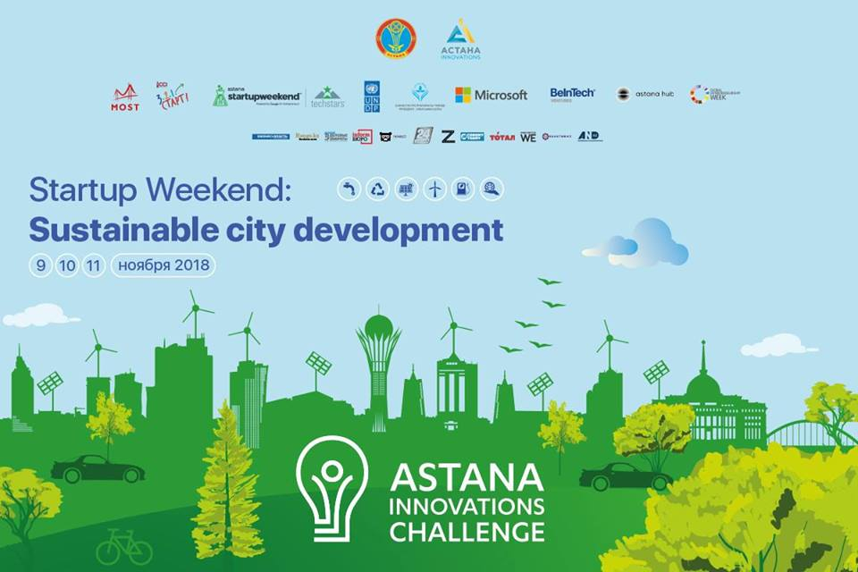 «Startup Weekend: Sustainable city development»
