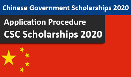 Chinese Government Scholarship Program 2020/2021