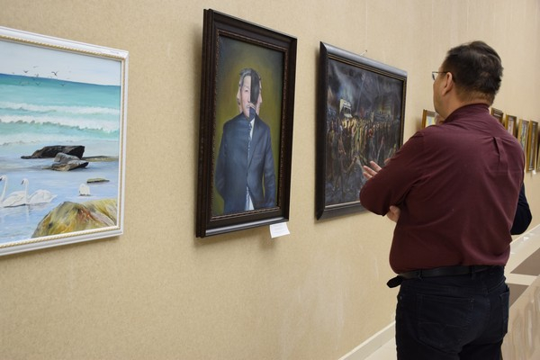 TAU University jointly with the Union of Artists held the VII Republican exhibition